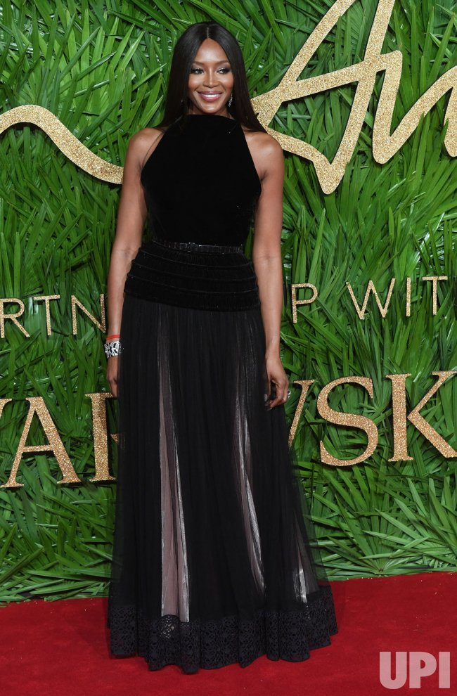 Naomi Campbell attends the Fashion Theatre Awards at Royal Albert Hall, London.