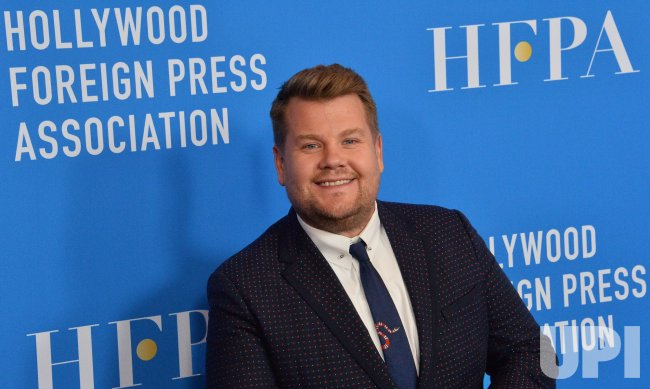 James Corden attends HFPA grants banquet in Beverly Hills