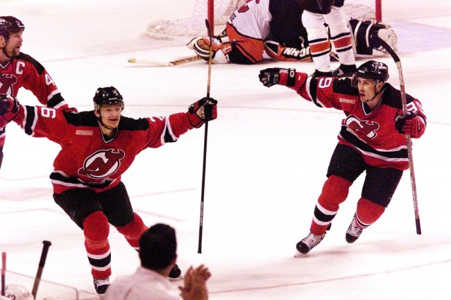 Philadelphia Flyers-New Jersey Devil champioship game