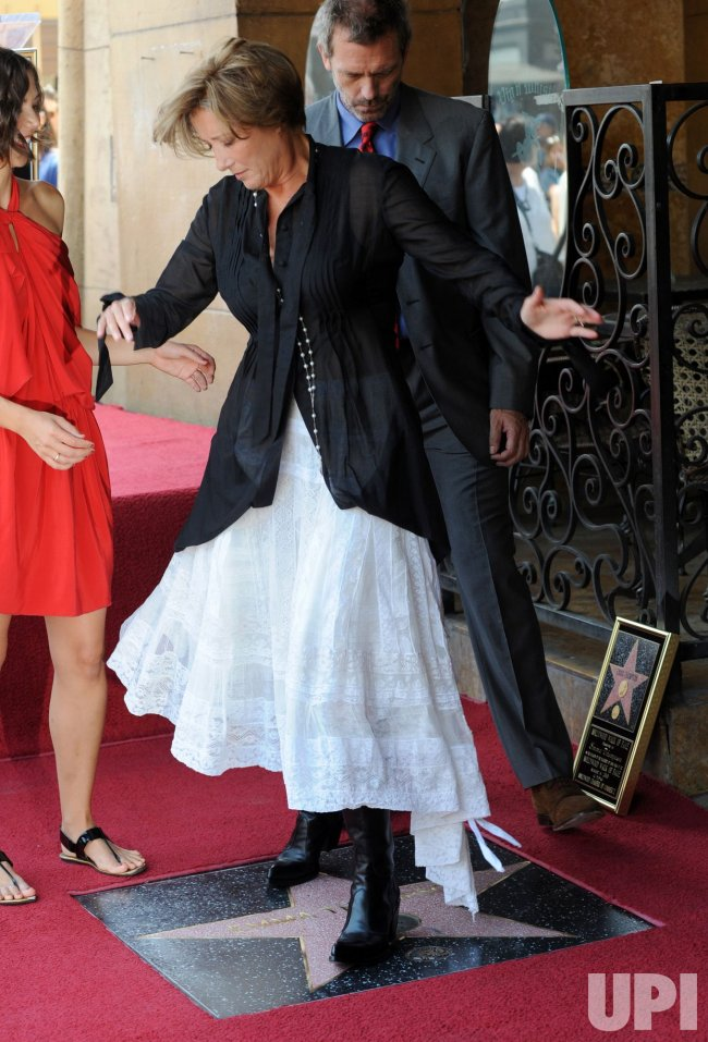Emma Thompson receives star on the Hollywood Walk of Fame in Los Angeles