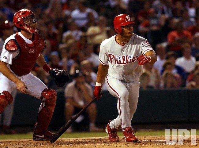 Philadelphia Phillies vs St. Louis Cardinals baseball