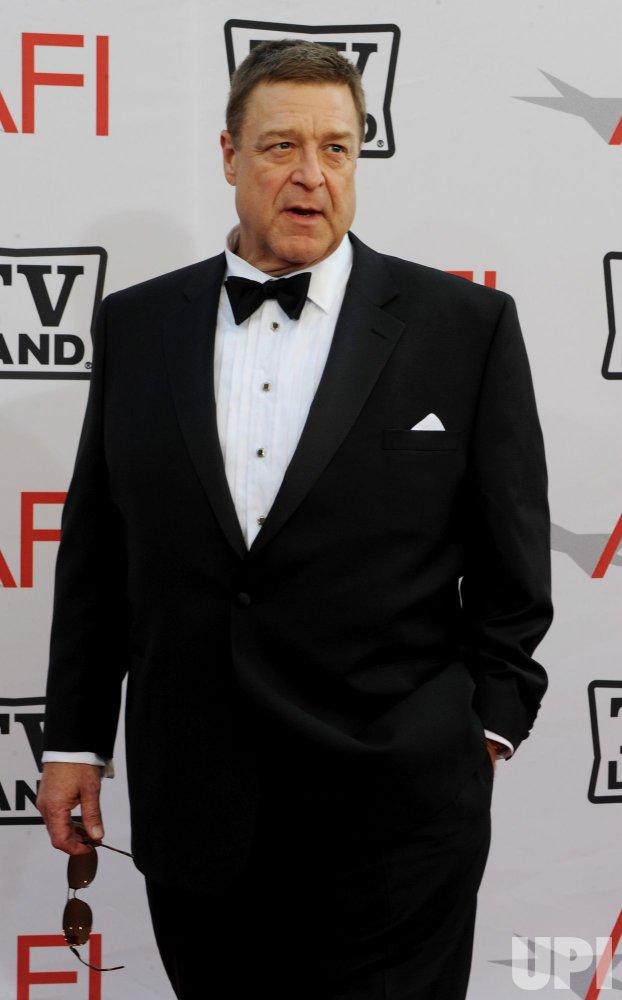 John Goodman arrives at the AFI Lifetime Achievement Awards in Culver City, California