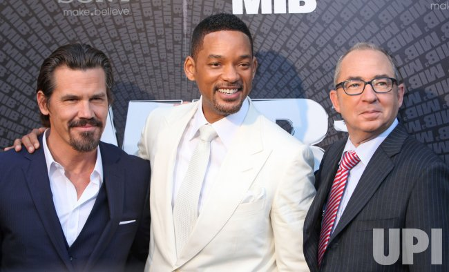 "European premiere of ""Men In Black 3"" in Paris"