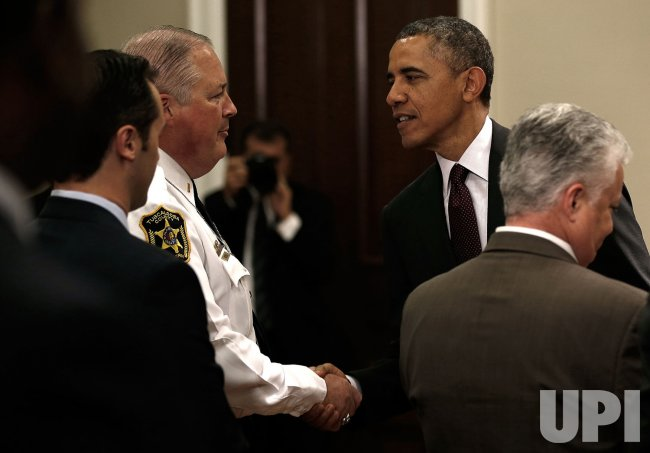 President Obama Discusses Immigration Reform With Law Enforcement Leaders
