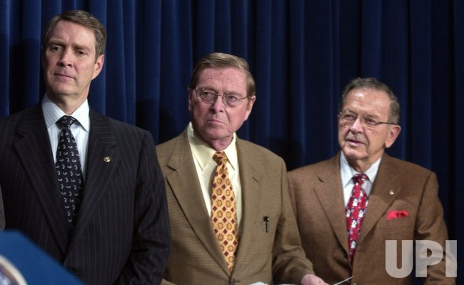 SENATORS HOLD PRESS CONFERENCE ON BORDER SECURITY