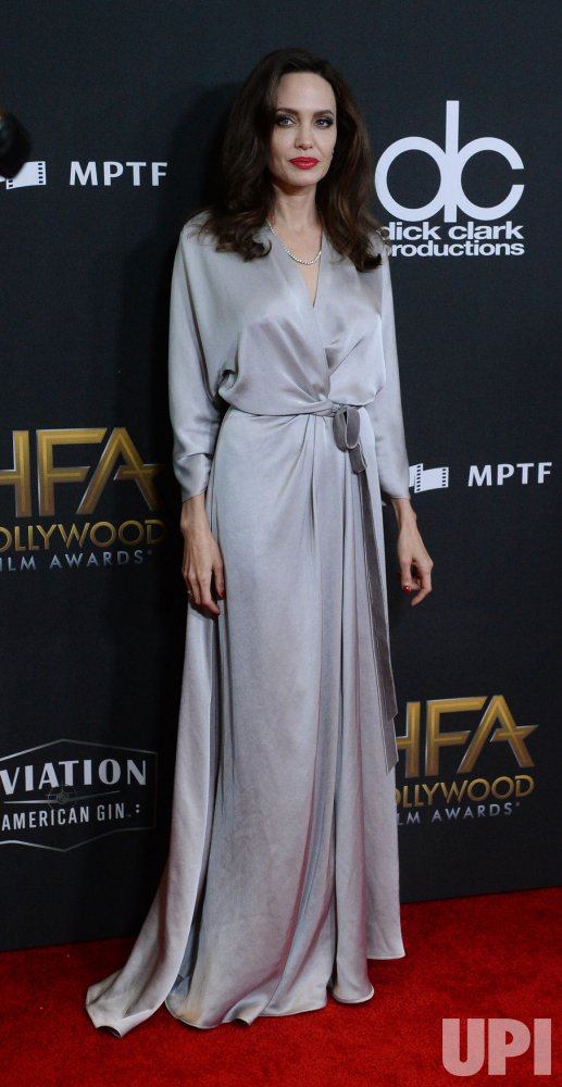 Angelina Jolie attends 21st annual Hollywood Film Awards in Beverly Hills