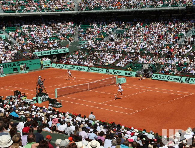 French Open tennis in Paris