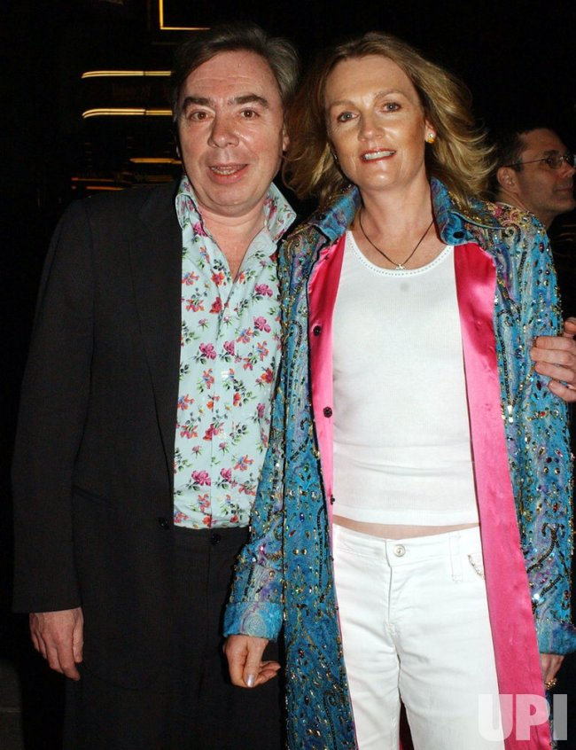 """SIR WEBBER ATTENDS BROADWAY OPENING OF """"BOMBAY DREAMS"""""""