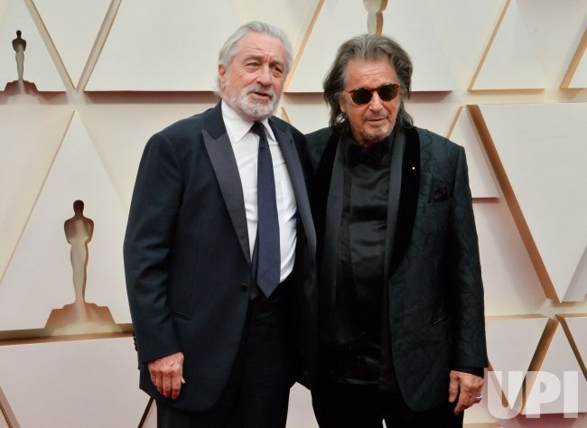 Robert De Niro and Al Pacino arrive for the 92nd annual Academy Awards in Los Angeles