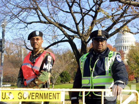 The National Guard deployed on Capitol Hill