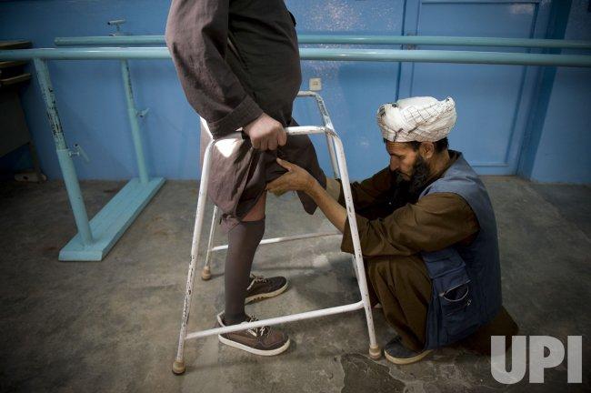 Red Cross assists landmine victims in Afghanistan