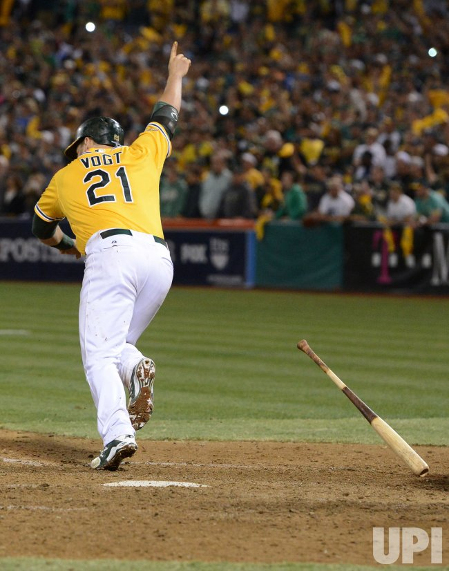 Oakland A's vs. Detroit Tigers in Game 2 of the ALDS