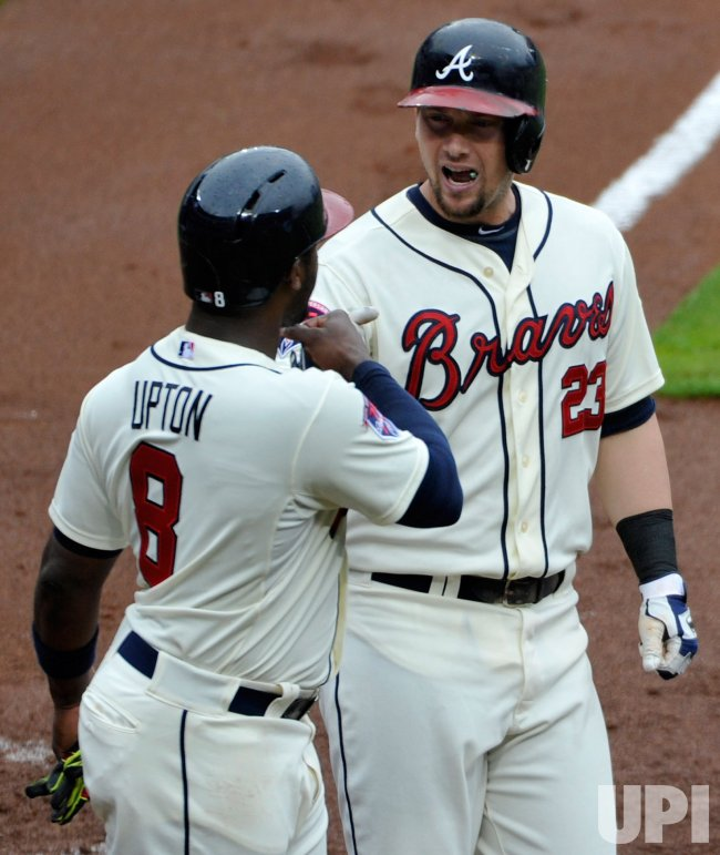 The Atlanta Braves play the Philadelphia Phillies