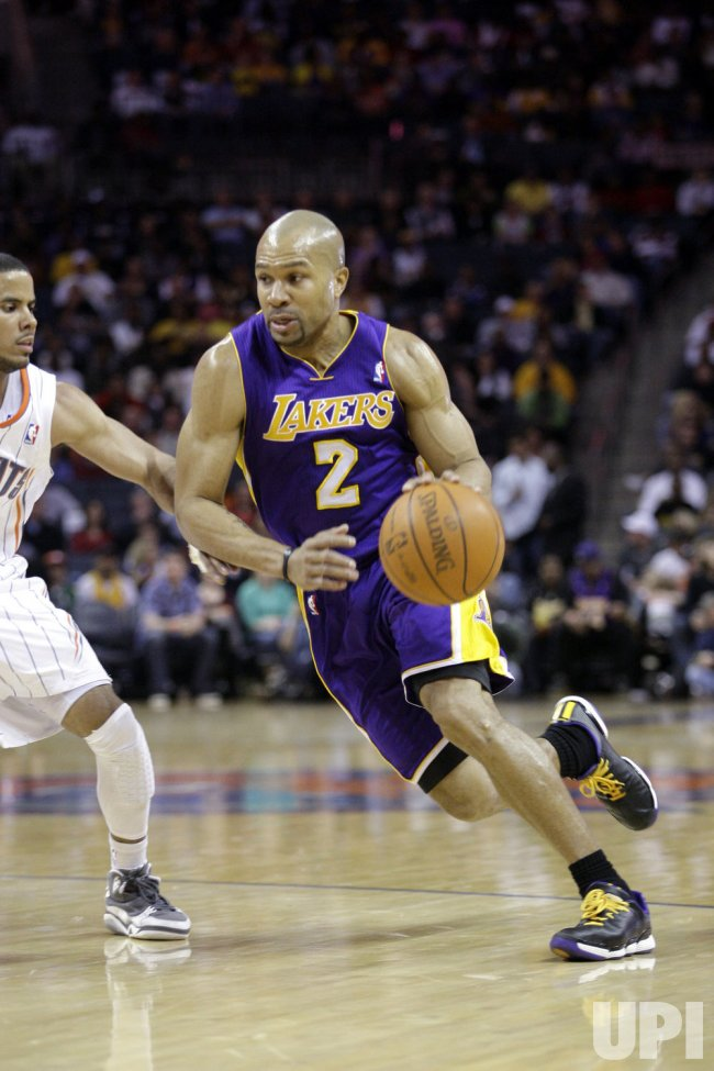 Los Angeles Lakers guard Derek Fisher