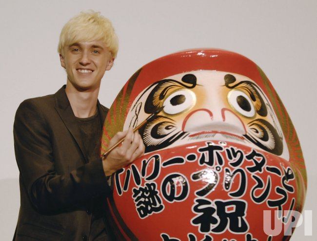 "Tom Felton promotes for his film ""Harry Potter and the Half-Blood Prince"" in Japan"