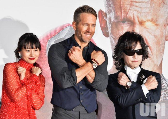 """""""Deadpool 2"""" Premiere in Tokyo"""