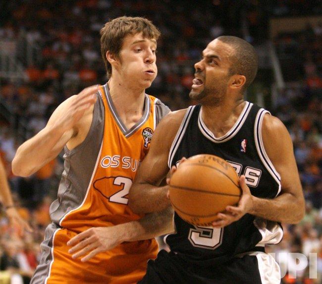 NBA Playoffs, Second Round, San Antonio Spurs at Phoenix Suns