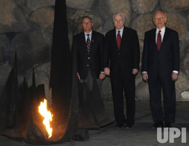 Senators McCain, Lieberman, and Graham visit Jerusalem
