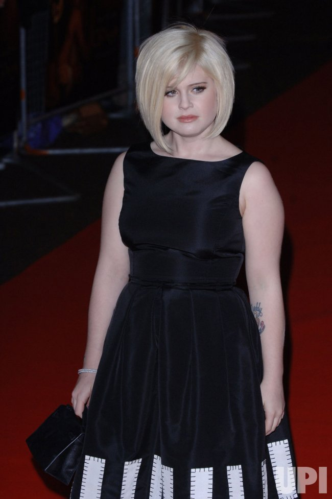 "SINGER KELLY OSBOURNE AT ""CASANOVA"" BRITISH PREMIERE"