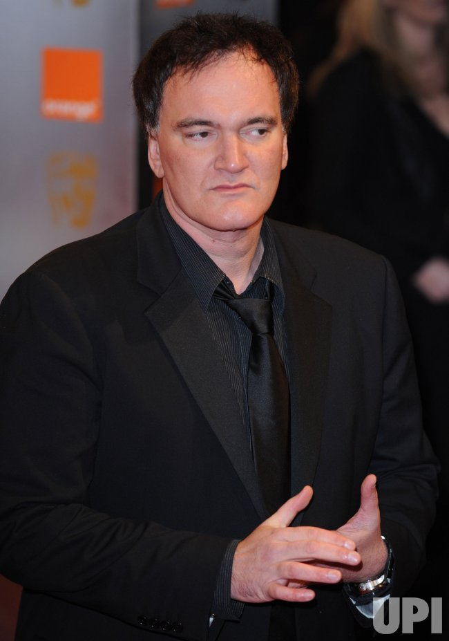 "Quentin Tarantino attends ""BAFTA"" in London"