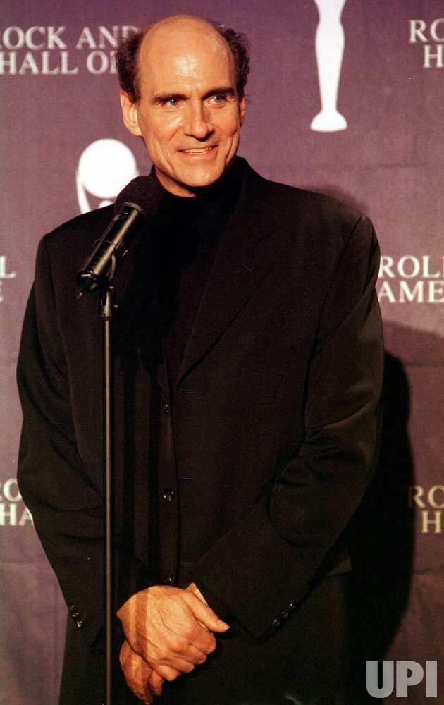 James Taylor inducted into Rock and Roll Hall of Fame