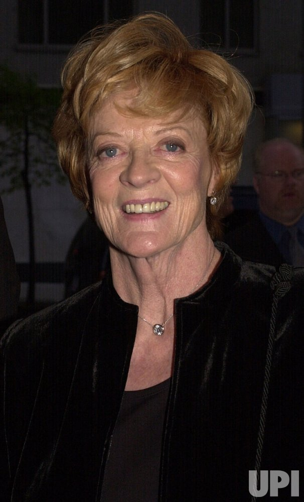 "Dame Maggie Smith film premiere ""My House in Umbria"""