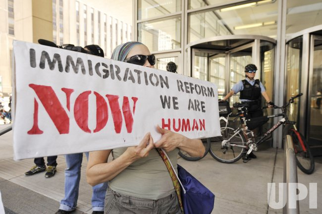 Protesters Demonstrate against NATO, Immigration Policy and Wall Street in Chicago