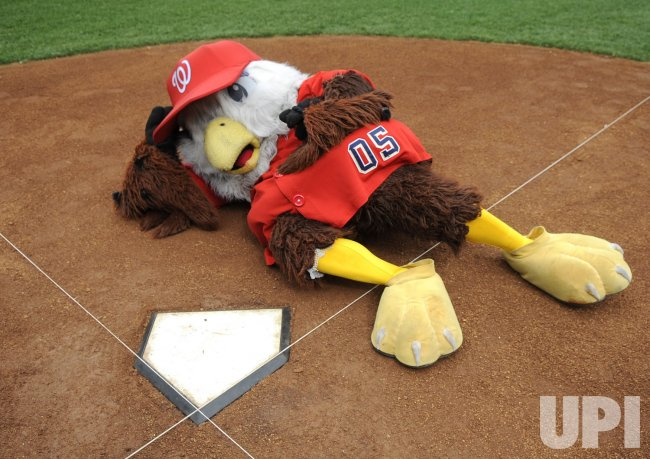 Nationals install home plate at their new stadium in Washington