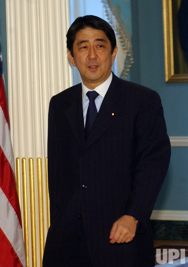 SECRETARY OF STATE RICE MEETS WITH JAPAN'S SHINZO ABE