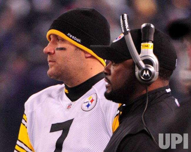 Steelers' Ben Roethlisberger and Mike Tomlin in Baltimore