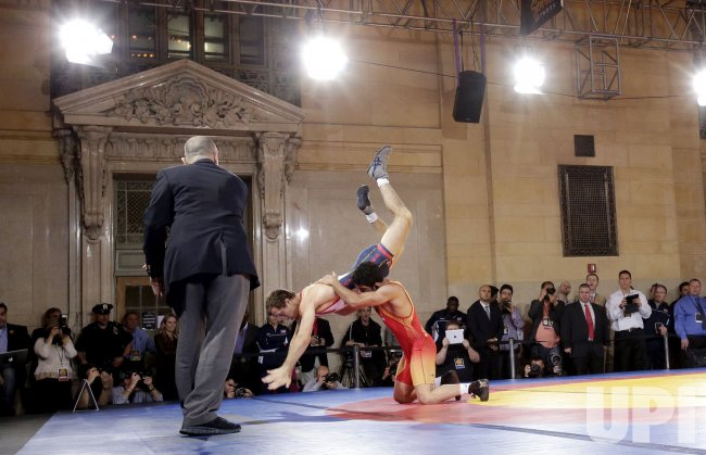 International Wrestling in Grand Central