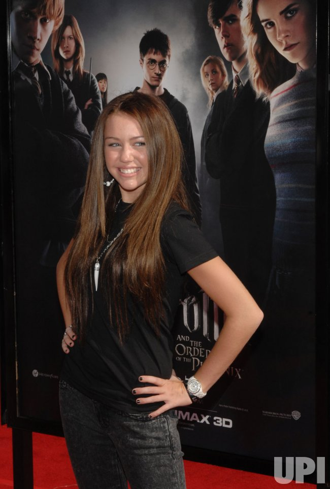 """""""HARRY POTTER AND THE ORDER OF THE PHOENIX"""" PREMIERE IN LOS ANGELES"""