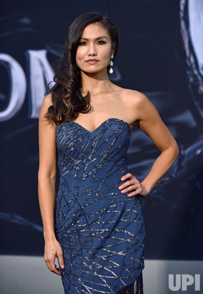 Michelle Lee attends 'Venom' premiere in Los Angeles - UPI.com