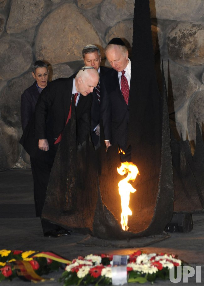 Senators McCain, Lieberman, and Graham visit Jerusalem