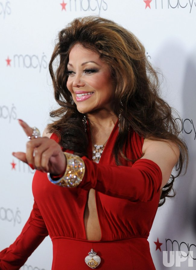 La Toya Jackson arrives at Macy's Passport Presents Glamorama in Los Angeles