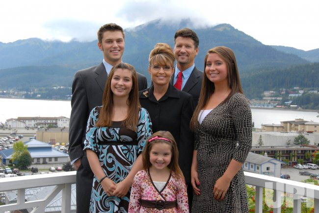 The Palin Family in Alaska in 2007