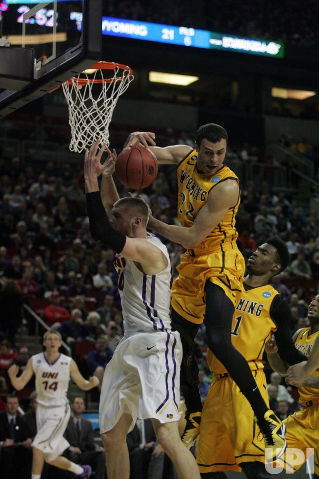 Northern Iowa vs. Wyoming 2015 NCAA Division I Men's Basketball Championship held in Seattle