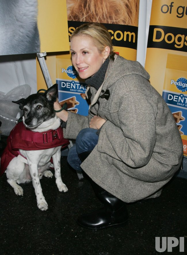 """Kelly Rutherford launches the Pedigree Dentastix """"Denture Your Dog"""" Contest in New York"""