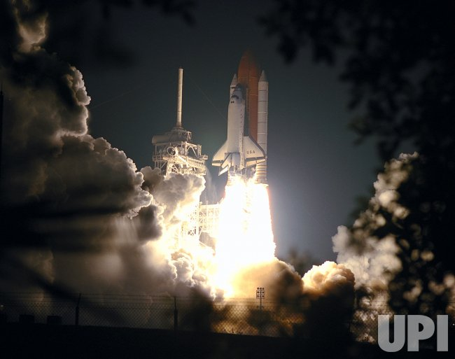 Space Shuttle Columbia launches after third try