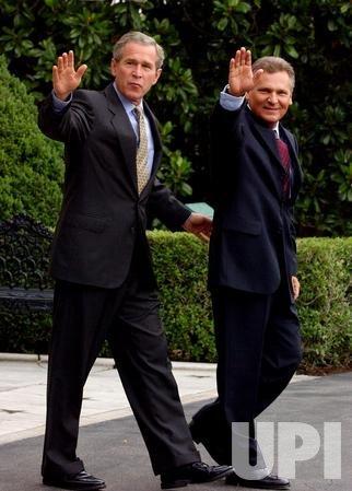 Bush departure
