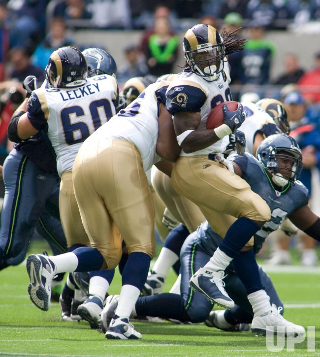 St Louis Ram vs Seattle Seahawks in Seattle