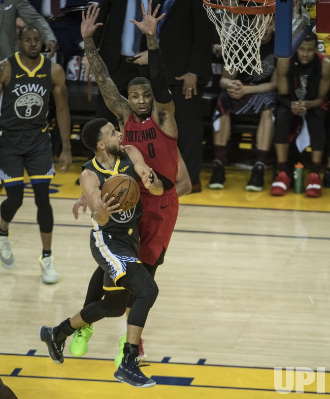 Portland Trail Blazers Golden State Warriors: Warriors Defeat Trail Blazers In Game Two