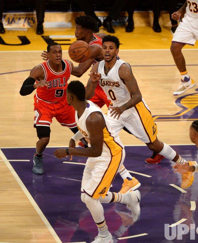 Los Angeles Lakers vs. Chicago Bulls in Los Angeles