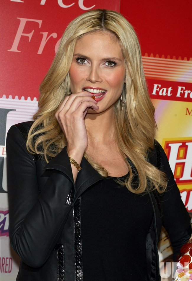 HEIDI KLUM CANDY LAUNCH