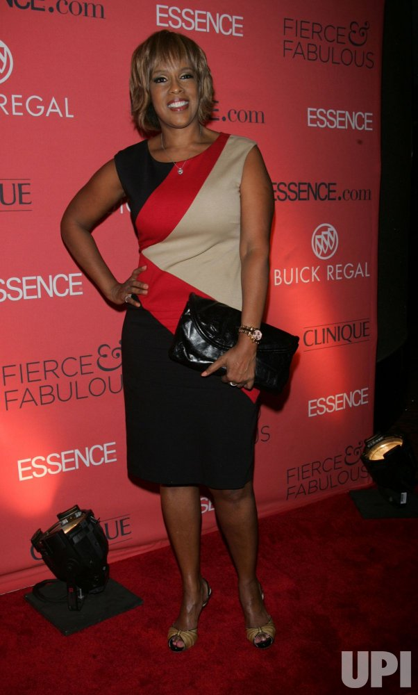 "Gayle King arrives for the Essence 40th Anniversary ""Fierce & Fabulous Awards"" Luncehon in New York"