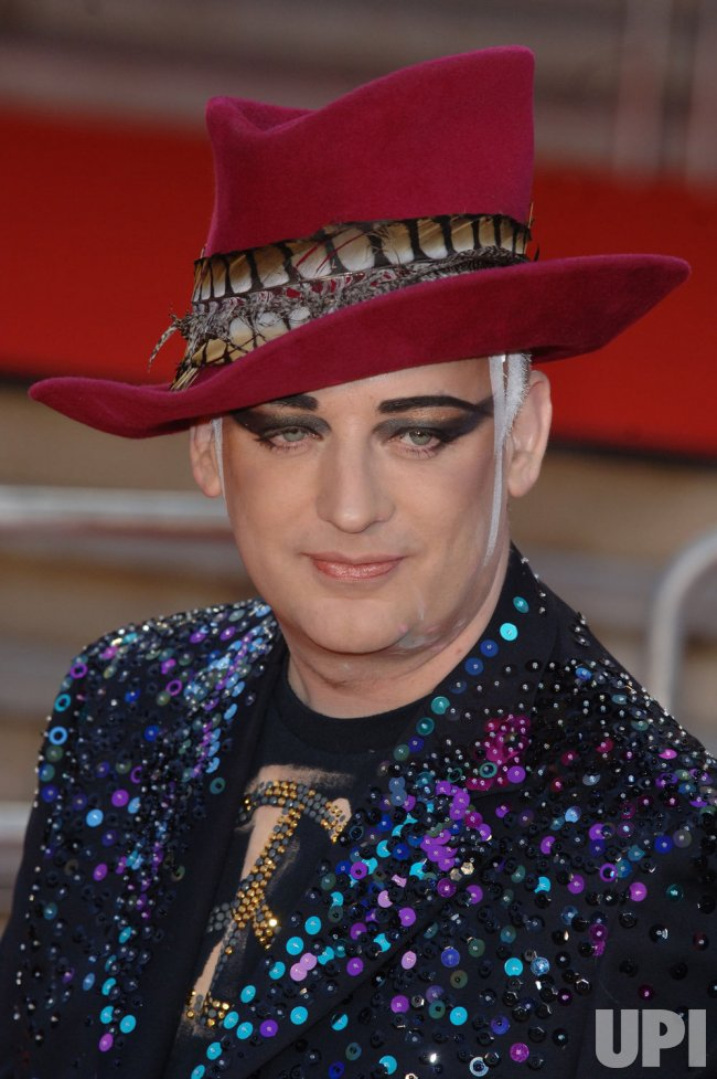 "SINGER/DJ BOY GEORGE AT ""BRIT AWARDS"""