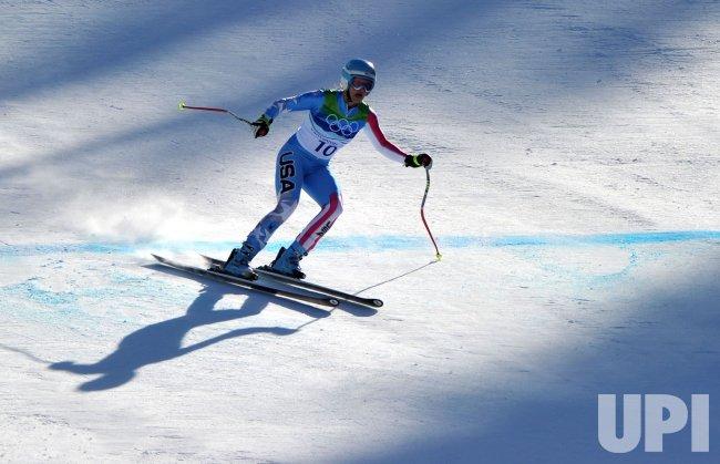 USA's Julia Mancuso wins silver in the Women's Downhill in Whistler