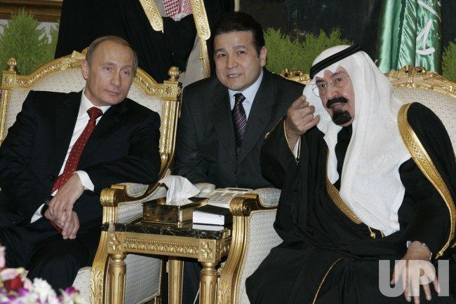 PRESIDENT PUTIN VISITS SAUDI ARABIA