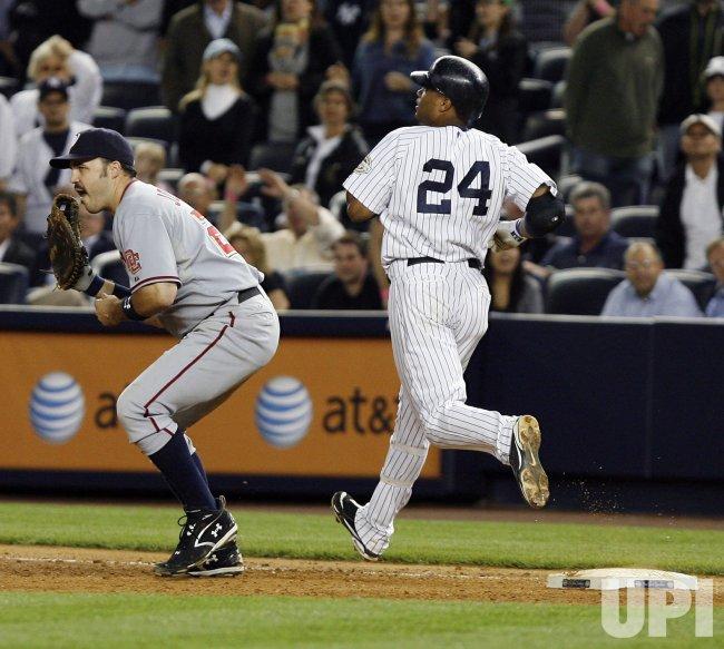 Washington Nationals vs New York Yankees at Yankee Stadium in New York