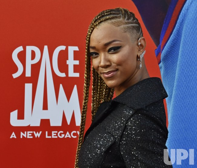 """Sonequa Martin-Green Attends the """"Space Jam"""" Premiere in LA"""